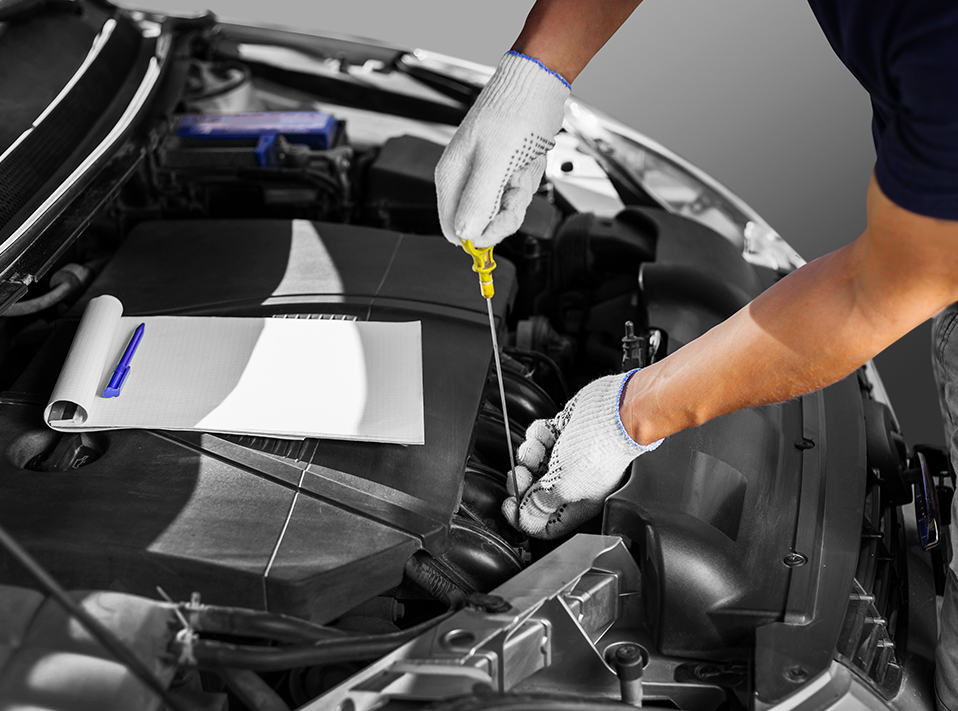Mechanic doing a Car Service - MOT, Servicing & Tyres Castleford